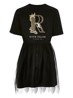 river-island-girls-r-printed-tulle-dress-black