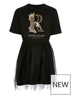 river-island-girls-r-printed-tulle-dress-black