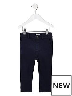 river-island-mini-mini-boys-smart-trouser--navy