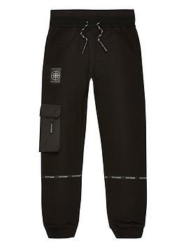 river-island-boys-taped-utility-jogpants-black