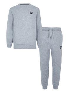 river-island-boys-rvr-sweatshirt-ampnbspjog-pant-set-grey