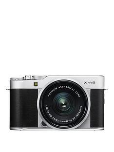 fujifilm-fujifilm-x-a5-camera-silver-xc-15-45mm-ois-silver-lens-kit