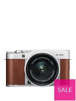 fujifilm-fujifilm-x-a5-camera-brown-xc-15-45mm-ois-silver-lens-kit