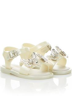 mini-melissa-mini-girls-marnbspbutterfly-jellynbspsandals-cream