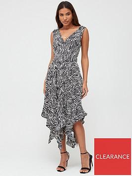 v-by-very-pleat-skirt-midi-dress-zebra-print