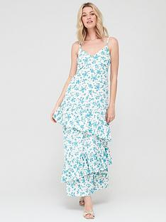 v-by-very-tie-sleeve-tiered-midaxi-dress-blue-floralnbsp