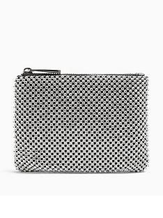 topshop-zip-top-purse-silver