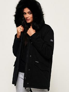 superdry-falcon-rookie-parka-black