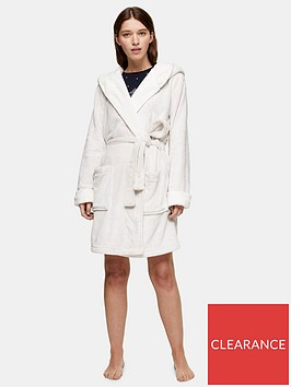 topshop-topshop-frosted-waffle-short-robe-cream