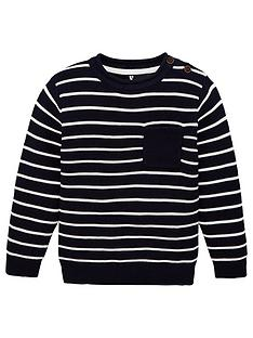 v-by-very-boys-striped-jumper-navy