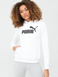 puma-essential-logo-hoodie-whitenbsp