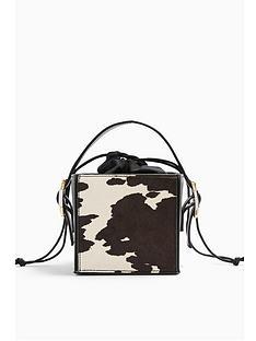 topshop-gracie-box-cow-print-bag--nbspmulti