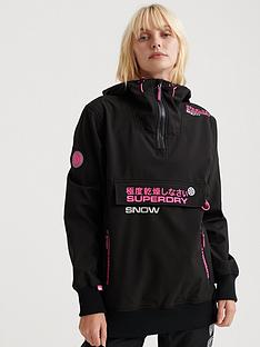 superdry-ski-snow-tech-half-zip-hood-black