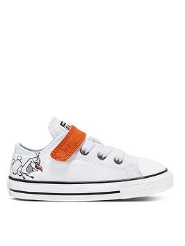 converse-frozen-2-olaf-toddler-trainers-white