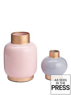michelle-keegan-home-set-of-2-satin-finish-vases