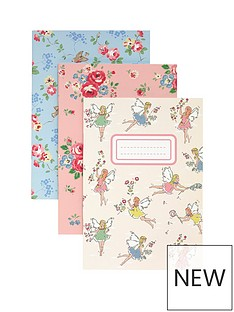 cath-kidston-cath-kidston-garden-faries-3-pack-notebooks-and-pencils-set