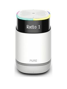 Pure StreamR Bluetooth Speaker and DAB Radio with Amazon Alexa