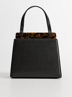 mango-mini-tortoise-shell-bag-black