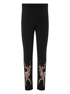 monsoon-girls-halle-reindeer-sequin-leggings-navy