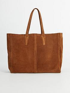 mango-suede-oversized-tote-bag