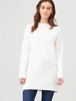 v-by-very-cross-stitch-longline-jumper-white
