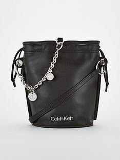 calvin-klein-chained-bucket-bag-black