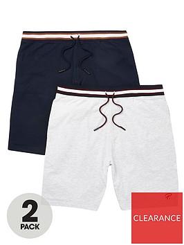 river-island-prolific-2-pack-shorts