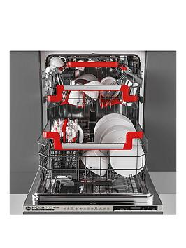 Hoover Hdin 4S613Ps-80 60Cm Wifi Integrated Dishwasher, 16 Place Settings, A+, Steel Smooth Touch Display - Dishwasher Only Best Price, Cheapest Prices
