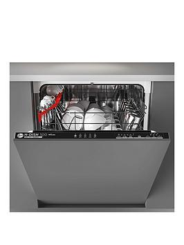 Hoover Hdin 2L360Pb-80 60 Cm Wifi Integrated Dishwasher, 13 Place Settings. A++, Black Trim - Dishwasher With Installation
