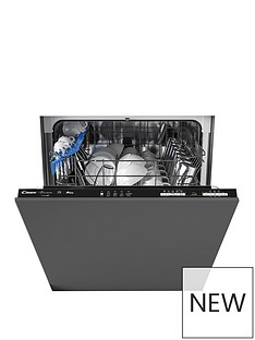 Candy CDIN 1L380PB-80Integrated WIFI 60 cm Dishwasher, 13 place settings. A+, Black trim