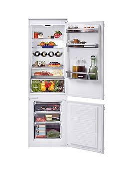 Hoover Hbbs 100 Uk Built-In 70/30 Split Fridge Freezer, 190/60 Litres, White - Fridge Freezer Only Best Price, Cheapest Prices