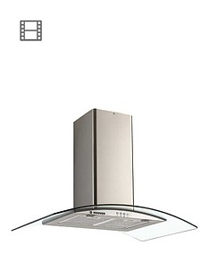 hoover-hgm900x-90-cm-chimney-hood-stainless-steel-and-glass