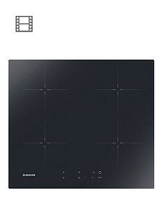 hoover-h-hob-300-hic642-60cm-hob-4-booster-zones-front-touch-control--nbspblack-glass