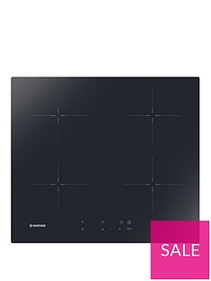 hoover-hic642-60-cm-induction-hob-4-booster-zones-front-touch-control-black-glass
