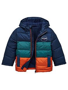 v-by-very-boys-colourblock-padded-coat-multi
