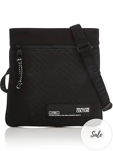 versace-jeans-couture-menrsquos-classic-logo-cross-body-bagnbsp--black