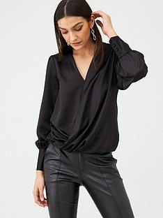 v-by-very-long-sleeve-wrap-top-black
