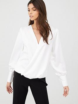 v-by-very-long-sleeve-wrap-top-ivory
