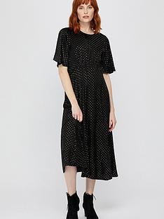monsoon-alexia-foil-spot-midi-dress