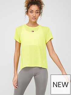 tommy-hilfiger-performance-lbr-top-yellownbsp