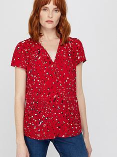 monsoon-nima-print-zip-blouse