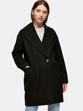 topshop-single-button-jacket-black