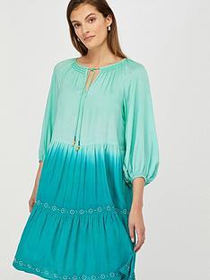monsoon-ruby-dip-dye-dress