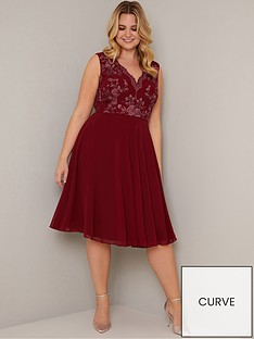 chi-chi-london-curve-thalia-dress-burgundy
