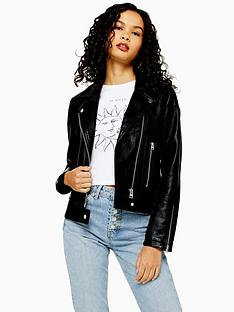 topshop-tall-pu-biker-jacket-black