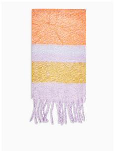 topshop-heavy-stripe-scarf-multi