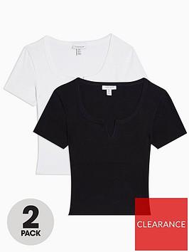 topshop-tall-2-pack-notch-t-shirts-multi