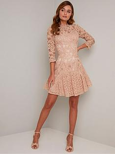 chi-chi-london-emberley-dress-mink