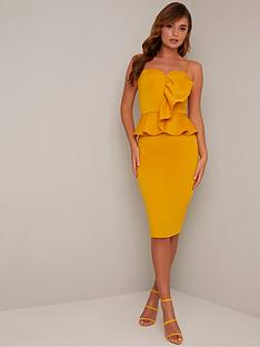 chi-chi-london-ettie-dress-mustard