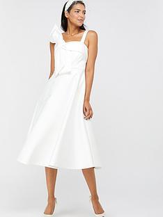 monsoon-carrie-bridal-satin-bow-midi-dress-ivory